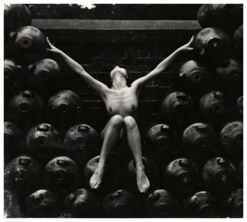 Modernist nude #18, 1955, Yoshiyuki Iwase